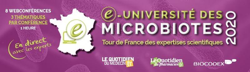 Webconférences sur les microbiotes